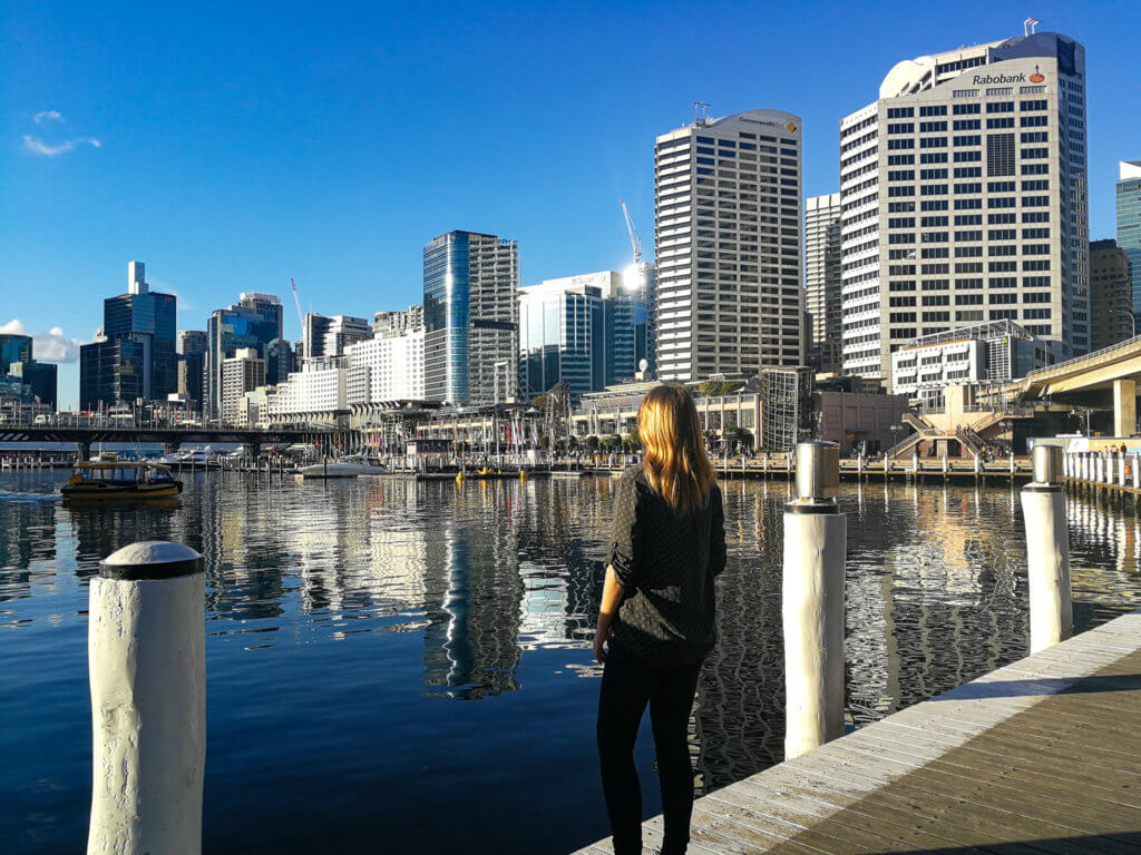 am Darling Harbour