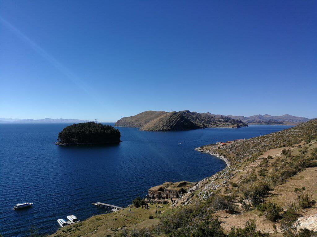 Isla del Sol mit der Inca-Ruine
