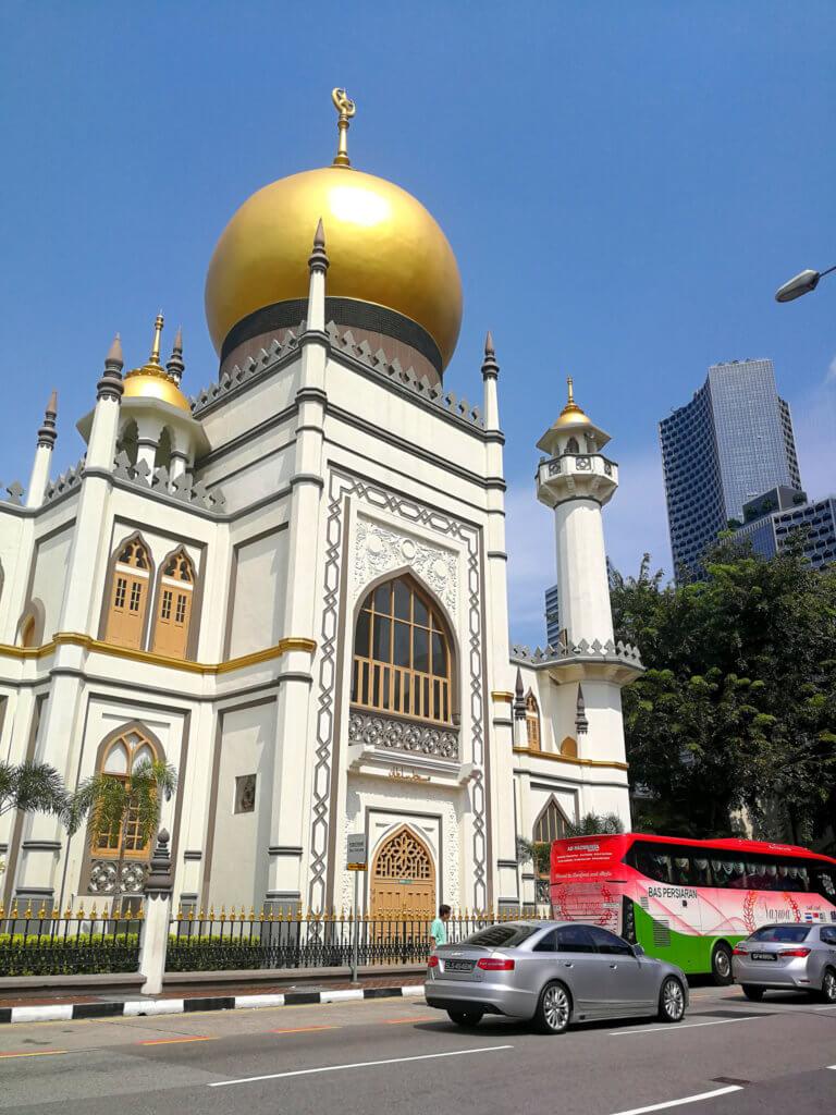 Moschee im arabischen Viertel