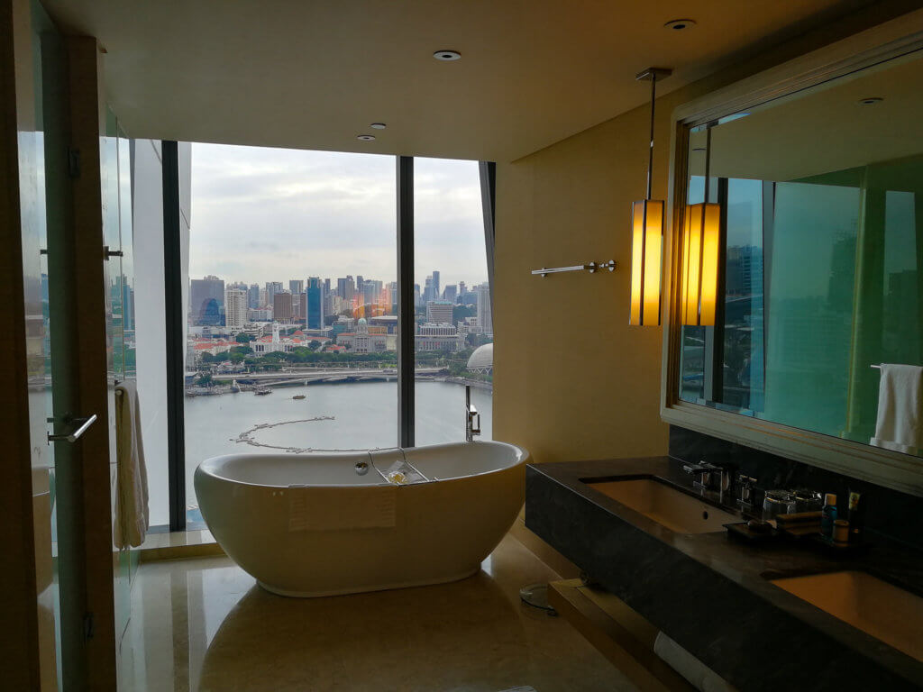 Badewanne mit Aussicht :-)