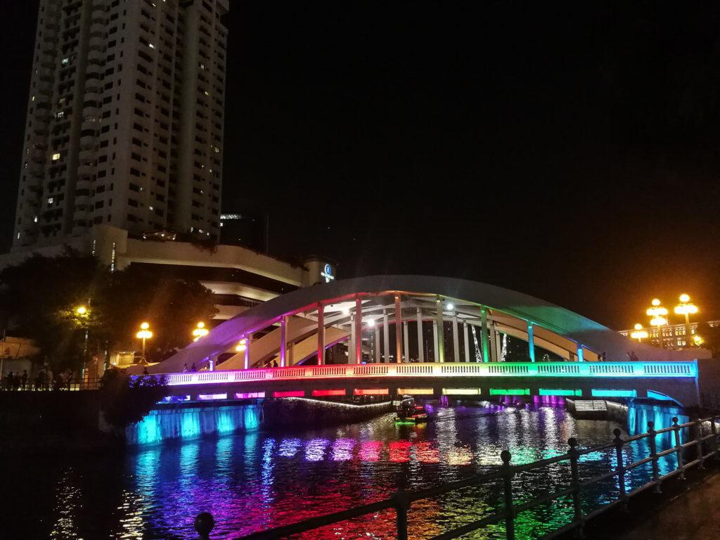 die Regenbogen-Brücke