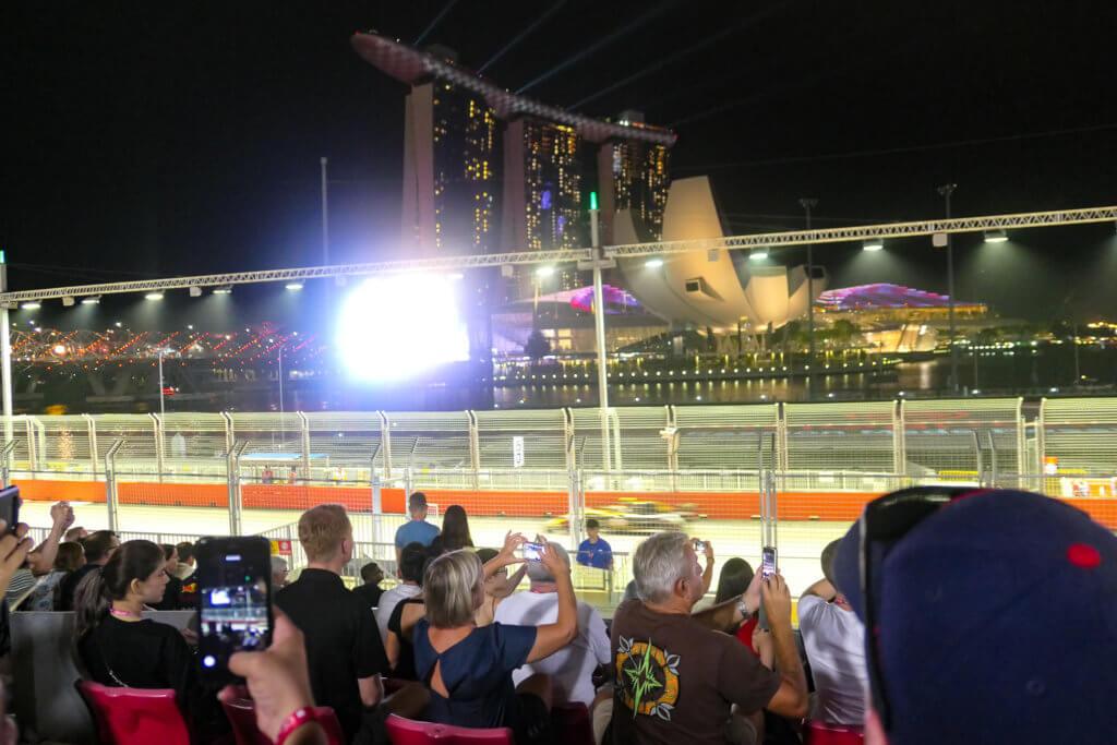 das Nachtrennen von Singapur