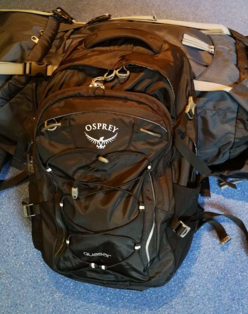 Mein Tagesrucksack Osprey Quasar 28