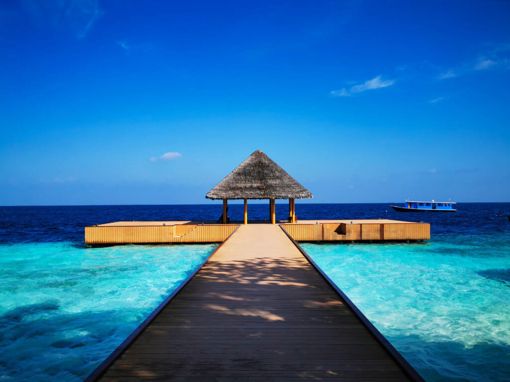 Das Resort, in dem ich arbeitete - schöne Erinnerungen in meinem Jahresrückblick